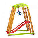 Акция! Деревянный детский  Спортивный комплекс для малышей от 2-х лет «Кроха - 2 Plus 1», фото 6