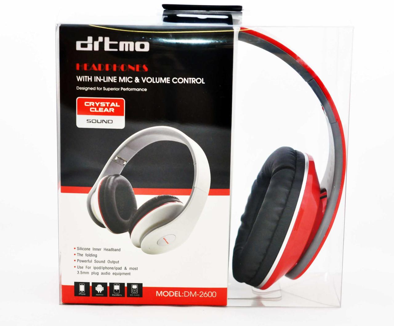 Наушники проводные Ditmo DM-2600