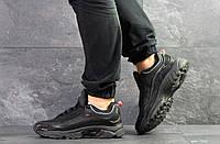 Мужские кроссовки Reebok Daytona DMX черные  ( Реплика ААА+), фото 1