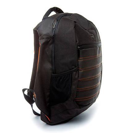 Рюкзак мужской городской с USB Апельсин, фото 2
