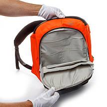 Рюкзак мужской городской с USB Апельсин, фото 3