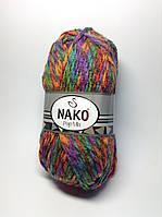 Пряжа pop mix Nako (25% шерсти)