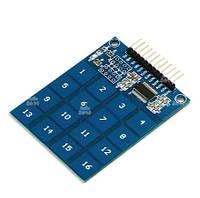 Модуль 16 сенсорных кнопок TTP229