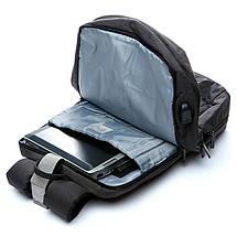 Рюкзак мужской городской с USB портом 320022, фото 3