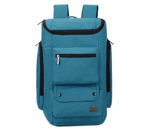 Рюкзак мужской городской голубой, фото 2