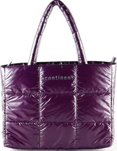 Стильная женская сумка для ноутбука Continent CC-074 Violet фиолетовый