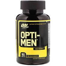 """Комплекс для мужчин Optimum Nutrition """"Opti-Men"""" витамины и минералы (90 таблеток)"""