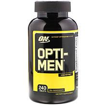 """Комплекс для чоловіків Optimum Nutrition """"Opti-Men"""" вітаміни та мінерали (240 таблеток)"""