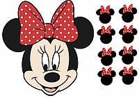 Вафельная картинка Микки Маус 15