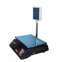 Весы торговые электронные со стойкой на 40кг, фото 1