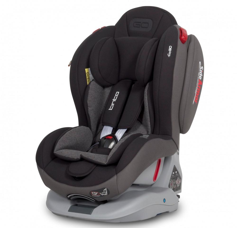 Детское автокресло EasyGo Tinto carbon (0-25 кг)
