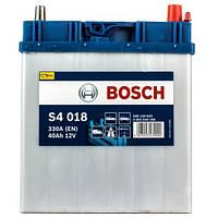 Автомобильный аккумулятор Bosch S4 Silver (S4 018): 40 Ач, 12 В, 330 А - (0092S40180), 187x127x227 мм
