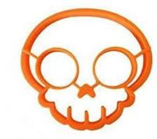 Форма для смаження яєць череп orange