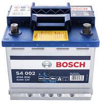 Автомобильный аккумулятор Bosch S4 Silver (S4 002): 52 Ач, плюс: справа, 12 В, 470 А - (0092S40020), 207x175x190 мм