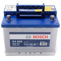 Автомобильный аккумулятор Bosch S4 Silver (S4 005): 60 Ач, плюс: справа, 12 В, 540 А - (0092S40050), 242x175x190 мм