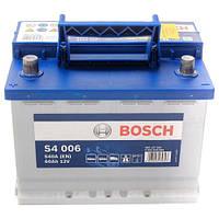 Автомобильный аккумулятор Bosch S4 Silver (S4 006): 60 Ач, плюс: слева, 12 В, 540 А - (0092S40060), 242x175x190 мм