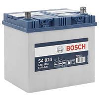 Автомобильный аккумулятор Bosch S4 Silver (S4 024): 60 Ач, плюс: справа, 12 В, 540 А - (0092S40240), 232x173x225 мм