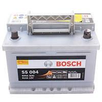 Автомобильный аккумулятор Bosch S5 Silver Plus (S5 004): 61 Ач, плюс: справа, 12 В, 600 А - (0092S50040), 242x175x175 мм