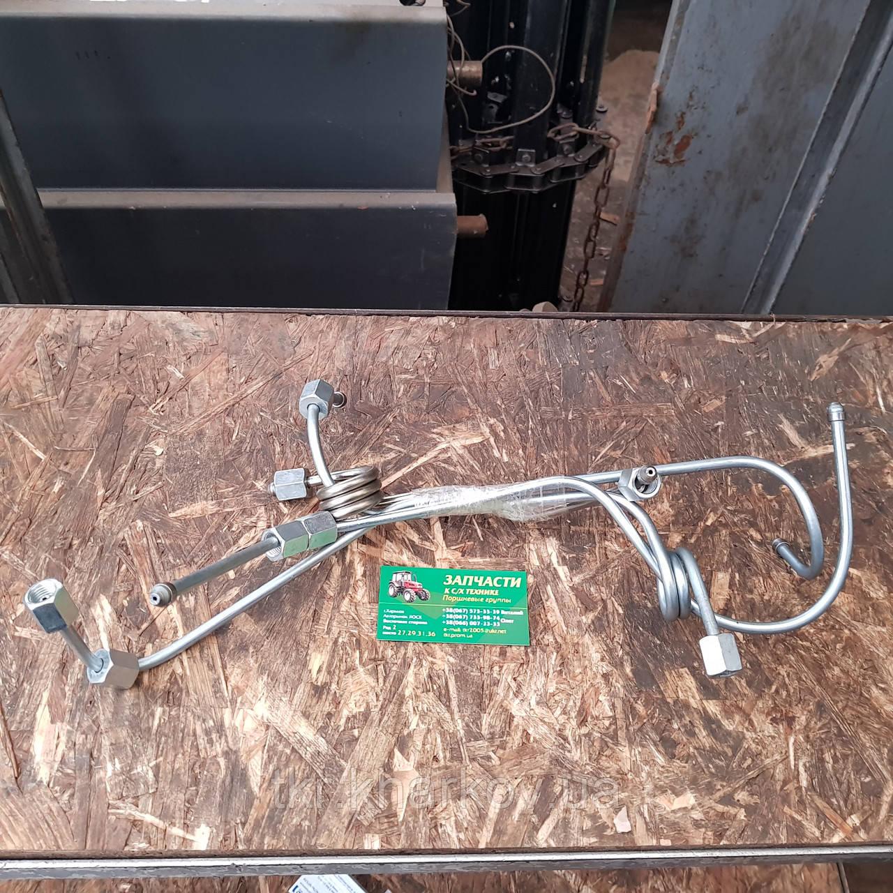 Комплект трубок высокого давления ЮМЗ гнутые (комплект 4 шт) (Д65-16С18-21