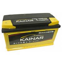 Автомобильный аккумулятор Kainar Standart+ : 100 Ач, плюс: слева, 12 В, 850 А - (1002611120ЖЧ), 353x175x190 мм