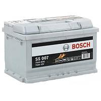 Автомобильный аккумулятор Bosch S5 Silver Plus (S5 007): 74 Ач, плюс: справа, 12 В, 750 А - (0092S50070), 261x175x220 мм