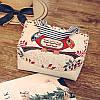 Эко-сумка бежевая с изображением совы, фото 3