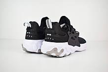 """Кроссовки Nike Presto React """"Черные"""", фото 2"""