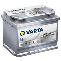 Автомобильный аккумулятор Varta Silver Dynamic AGM (D52): 60 Ач, плюс: справа, 12 В, 680 А - (560901068), 242x175x190 мм