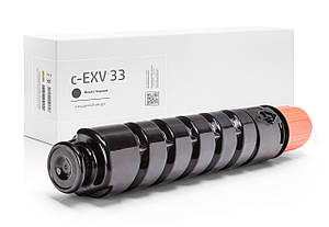 Картридж совместимый Canon C-EXV33 (2785B002), 14.600 копий, аналог от Gravitone (GTC-CRG-C-EXV-33-TN-BK)