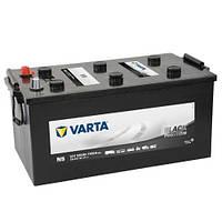 Аккумулятор грузовой Varta Promotive Black (N5): 220 Ач, 12 В, 1150 А - (720018115), 518x276x242 мм