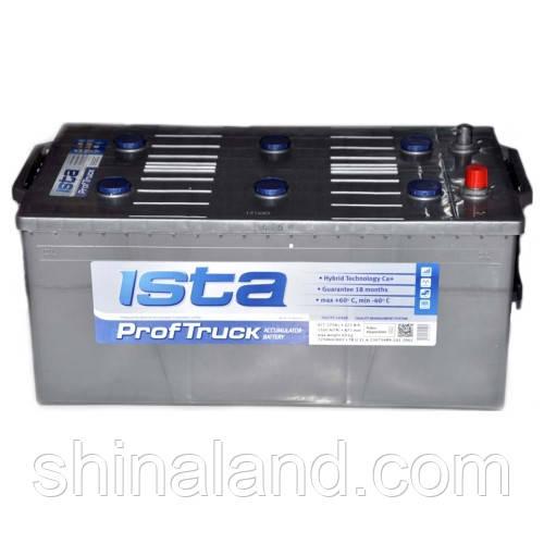 Аккумулятор грузовой Ista ProfTruck : 225 Ач, 12 В, 1500 А - (7250502), 518x276x242 мм