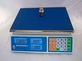 Весы торговые электронные F902H 30L1