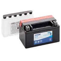 Аккумуляторы мото Exide ETX7A-BS: 6 А·ч - 12 V; 90 (ETX7A-BS), 150x87x93 мм