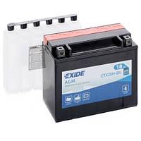 Аккумуляторы мото Exide ETX20H-BS: 18 А·ч - 12 V; 270 (ETX20H-BS), 175x87x155 мм