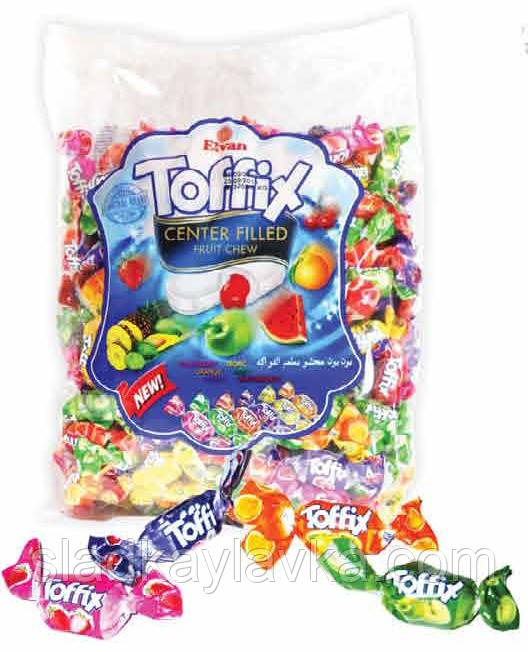 Жевательная конфета Toffix 1000 гр (Elvan)