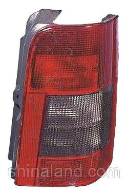 Фонарь задний правый Citroën Berlingo First, Peugeot Partner (2дв.) 1996 - 2008 дымчатая вставка, (Depo, 552-1909R-UE) OE 18441 - шт.