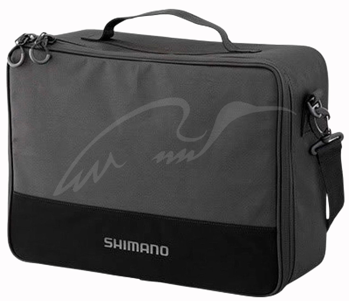 Сумка Shimano Reel Pouch Medium 19x28x13cm (для катушек) ц:черныйСумка Shimano Reel Pouch Medium 19x28x13cm (для катушек) ц:черный