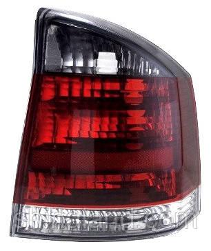 Фонарь задний правый Opel Vectra C (седан, хэтчбек) 2002 - 2008 дымчатая вставка, (Depo, 442-1927R-UE-SR) OE 1222692 - шт.