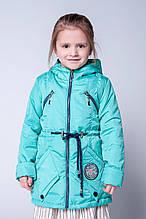 Модная детская куртка демисезонная детская 104-122