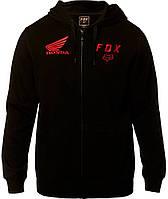 Толстовка Fox Honda ZIP Fleece чорний, L, фото 1