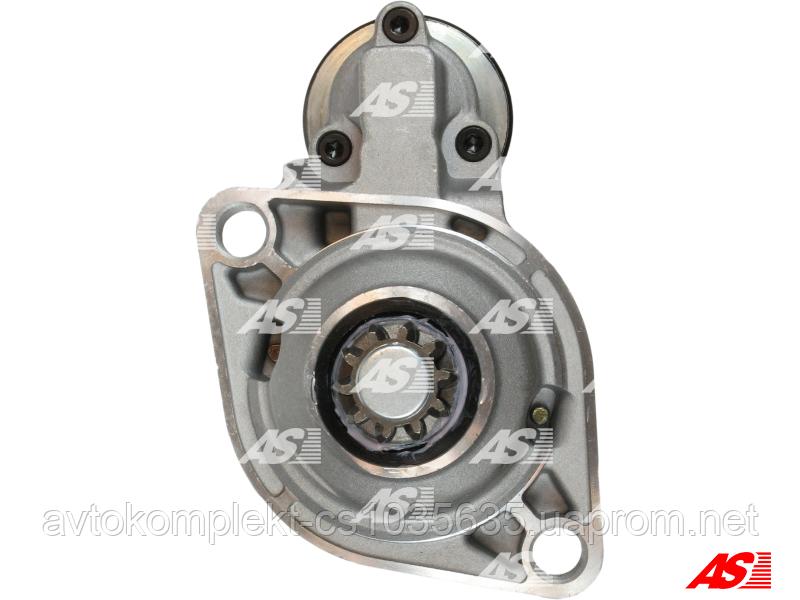Стартер AS S0025 1.8 кВт (Audi A2, A3 | SEAT | SKODA OCTAVIA, FABIA | VW Golf 1,2,3,4,  PASSAT, POLO)