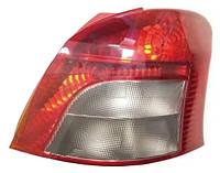 Фонарь задний правый Toyota Yaris II (дорейстайл) 2005 - 2009 (TYC, 11-1181-01-2) OE 815510D110 - шт., фото 1