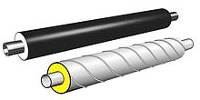 Труби попередньоізольовані і фасонні частини