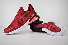 """Кроссовки Nike Air Max 270 """"Бордовые"""", фото 3"""