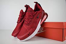 """Кроссовки Nike Air Max 270 """"Бордовые"""", фото 2"""