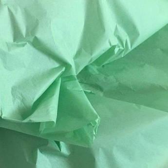 Папиросная бумага тишью мятная 50 х 70 см