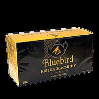 BLUEBIRD Цветок жасмина. Зеленый чай   20 ф/п. * 4 гр
