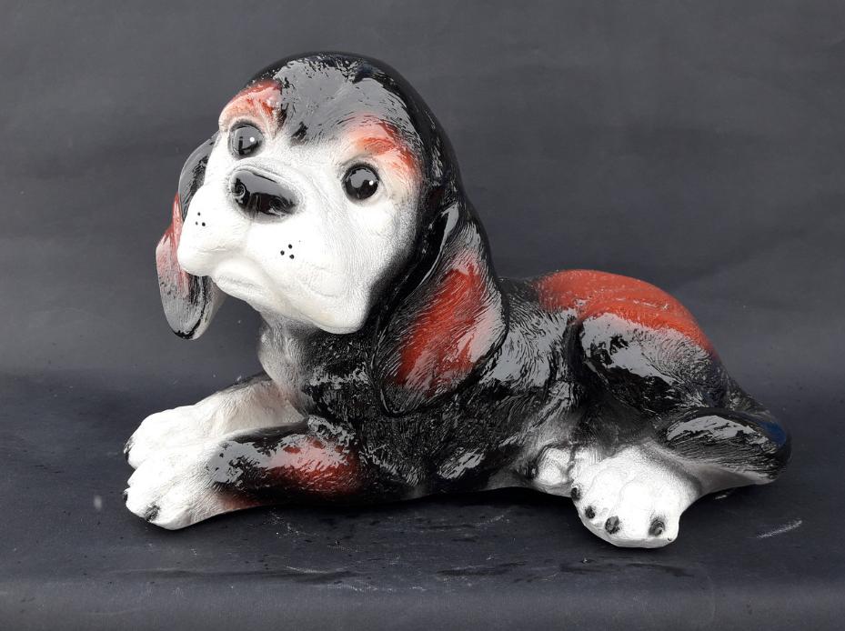 Лежачий щенок