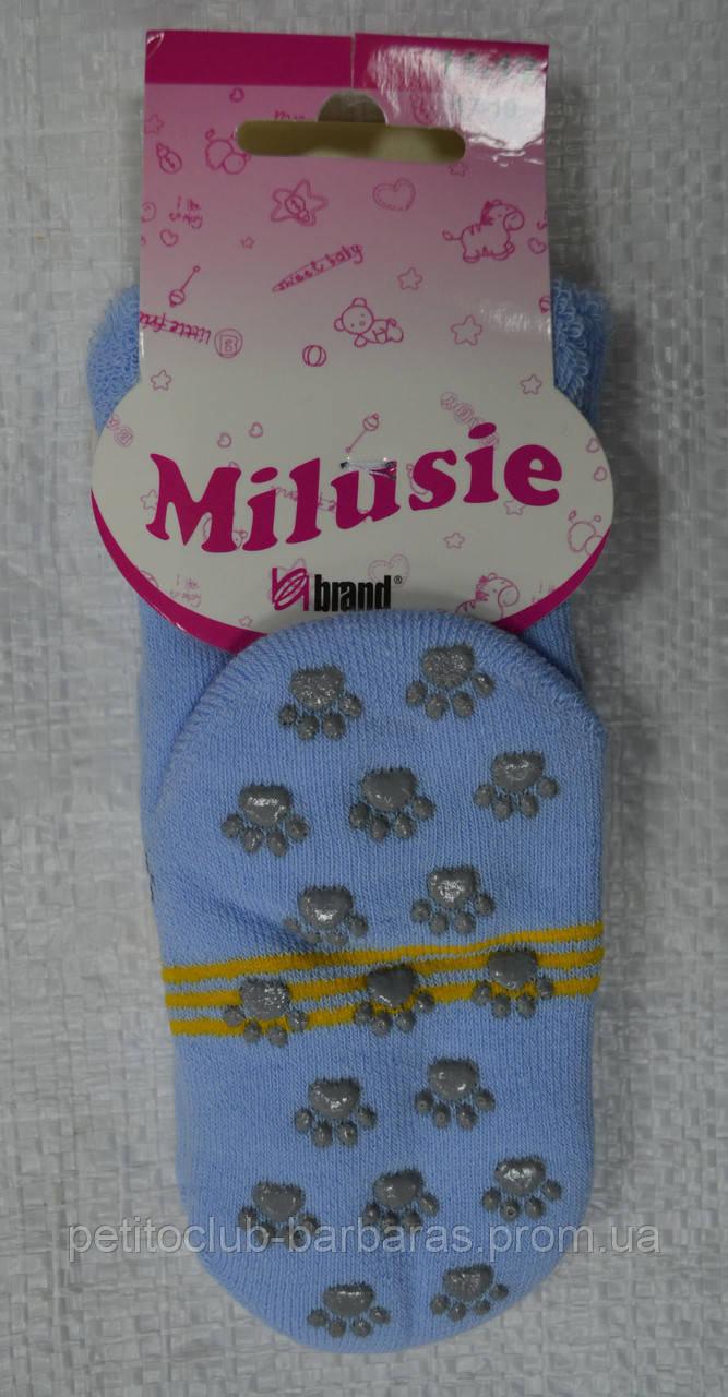 Детские махровые носки с ABS тормозами р. 11-12 (Brand,  Польша)