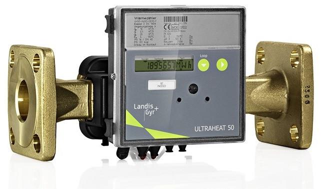 Теплолічильники Landis+Gyr Ultraheat UH50 (T550) DN25-150
